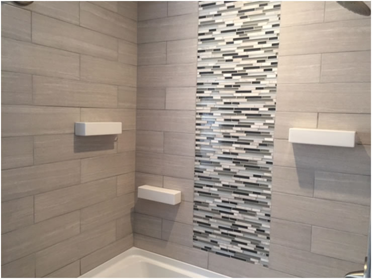 Recessed Shelves In Bathroom