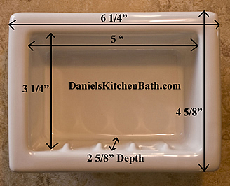 Shower Shelf Shampoo Niche Recessed